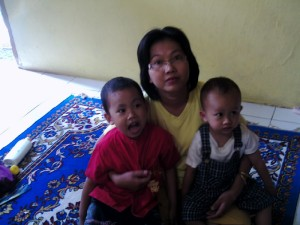 istri dan ke2 anak ku